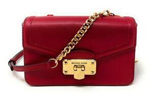 Michael Kors Kinsley Leather Medium 5 In 1 Crossbody Clutch Wallet