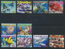 Tokelau 372-381 (complete issue) fine used / cancelled 2007 Seafood (9305104