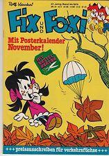 Fix und Foxi 27. Jg. 1979 Nr. 44 (1) sehr guter Zustand + Beilage Bastelbogen