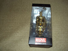 FUNKO, MARVEL COLLECTOR CORPS, GOLD CAPTAIN AMERICA STATUE, FOUNDER 2015 GIFT