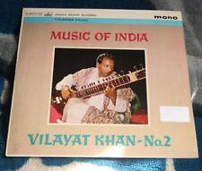 VILAYAT KHAN No.2 MUSIC OF INDIA LP INDIA HMV ASD 539