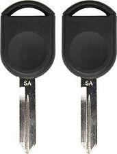 2 H92 Ford Mercury Lincoln Mazda Transponder Chip Key 4D 63 (80-bit) SA Stamp