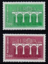 Andorra, French SC #323-24 1984 Europa Set of 2 MNH
