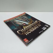 CHAMPIONS OF NORRATH (PLAYSTATION 2) PRIMA STRATEGY GUIDE (T60)