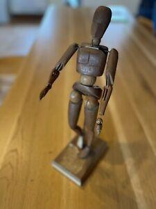 mannequin articulé bois