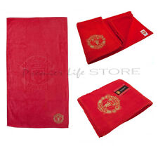 Manchester United F.C. Jacquard Embroidered Towel Official Merchandise