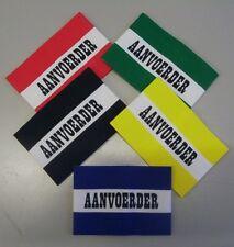 5 Stück Spielführer - Armbinden, Niederlande /Aanvoerder, Junior
