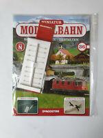 DeAgostini  Miniatur Modellbahn Spur N Nr.36 mit Heft   Neu/OVP