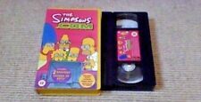 The Simpsons - The Simpsons.com UK PAL VHS VIDEO 2000 Animated Lucy Lawless