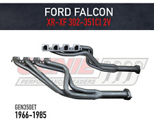 GENIE Headers / Extractors to suit Ford Falcon XR-XF V8 4V Heads - Tuned Length