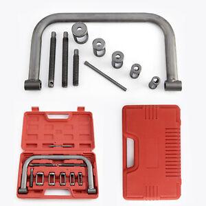 10pcs Portable Valve Spring Compressor Tool Kit For Cars Vans Bikes New