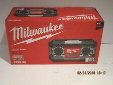Milwaukee Radio 2790-20 12V-28Volt iPhone iPod Ready, FREE SHIP NEW SEALED BOX!