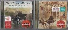 THE PIANO GUYS DOUBLESHOT: Wonders [TARGET CD] + Uncharted [TARGET CD] - NEW!