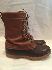 Vintage Maine Hunting LL Bean 8 eye Duck Boots Youth size 5 womens 7