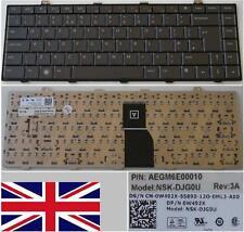 Clavier Qwerty UK DELL 1450 NSK-DJG0U 0W492X OW492X W492X AEGM6E00010 Grey