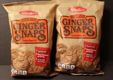 2 BAGS STAUFFER'S ORIGINAL RECIPE GINGER SNAPS COOKIES REAL GINGER 8 OZ Snacks