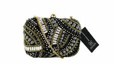 ** INC International Concepts Black Raychill Minaudiere Clutch Msrp $119.50