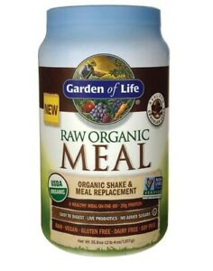 Garden of Life - Raw Organic Meal Shake & Meal Replacement - Chocolate 35.9oz