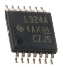 LM324 APW Texas Instruments, Precision Op-Amp, 5 to 28 V, 14-Pin LM324 TSSOP