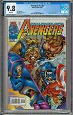 Avengers #v2 #2 #404 CGC 9.8 White Pages Kang Nick Fury Mantis app Rob Liefeld