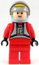 LEGO REBEL PILOT B-WING MINIFIG Star Wars flesh head minifigure sw032