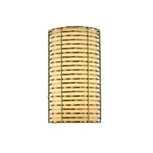 Kalco Paloma LED Wall Sconce, Vintage Brass - 312720VBR