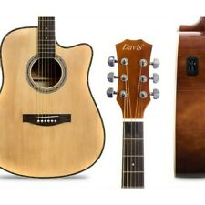 Davis Acoustic Guitar D-108 Natural color