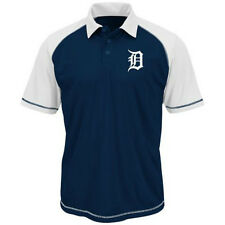 NEW MLB Detroit Tigers Men's Blue Polo Golf Shirt Size Small - FREE Shipping!