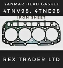 Yanmar/Komatsu Head gasket 4TNV98, 4TNE98, 4D98, Iron sheet 98mm Diameter