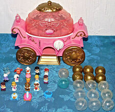 Disney Princess Squinkies and Cinderella & Carriage BELLE ARIEL PRINCE LOT OF 35