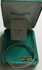 Vintage 14k Gold Bangle Bracelet (ITEM S011)