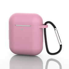 Silicone Airpods Protective Case Skin Cover For Apple AirPod 1 2 iPhone Clip
