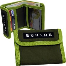 Burton Mini Purse Wallet Fabric Dark Green Wallet NEW