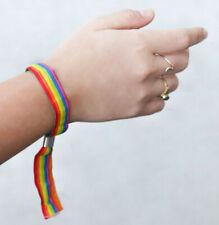 Regenbogen lgbtq Festivalband CSD Armband Pride Gay lgbt Bändchen