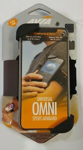 Avia Universal Omni Armband for Cell Phone iPhone 11/11 Pro X 8 Galaxy S10 S9 S8