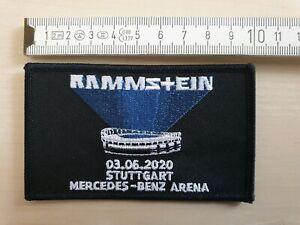 Rammstein Stuttgart 2020 Stadium Tour - Patch Aufnäher