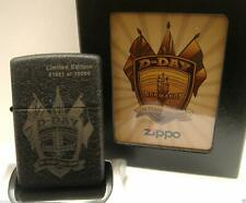 D-Day 65Th Anniversary Limited Edition Zippo Lighter (24753) … No 01374 of 10000