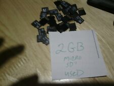 MICRO SD CARD LOT TWIN PACK 2GB 4GB    10 of each