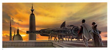 STAR WARS MCQUARRIE EMPIRE - 55 X 25 CM - ILLUSTRATION N°19 PORTFOLIO - VINTAGE