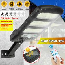1-4x 18/36/240LED Outdoor Solar Street Wall Light Sensor PIR Motion LED Lamp USA