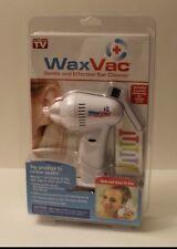 WaxVac * Ear Cleaner Wax Remover * As Seen On TV * NIB