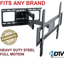 Full Motion TV Wall Mount Swivel Bracket 42 52 55 65 70 Inch LED LCD Flat Screen