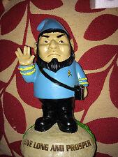 Star trek  Spock  Garden Gnome  statue