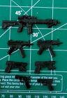 Custom Weapons Pack Resin Black Cast 1:12 For Sale