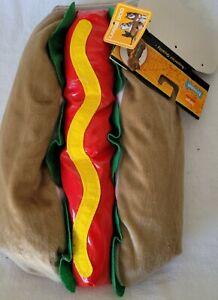 Dog Hot Dog Size Large Dog Costume Ketchup Mustard Relish And Bun
