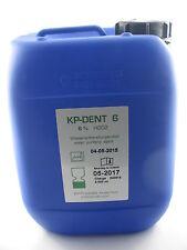 KP-DENT 6  5000 ml Wasseraufbereitungsmittel für die Dentaleinheit Zahnarztstuhl