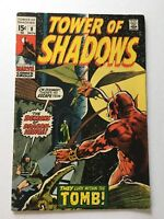 Tower of Shadows #8 Bernie Wrightson Cover 1970 FN- 5.5 Bronze Age Marvel Comic
