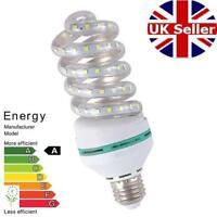 ULTRA Bright 16W LED Spiral Corn Light Bulbs WARM White 3200K Energy Saving E27