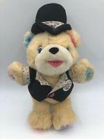 Birthday Bear John Sands Australia TCFC Plush Soft Stuffed Toy Animal Teddy