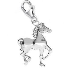 3D Pferd CHARM 925 Echt Silber Anhänger Pferde Geschenkidee